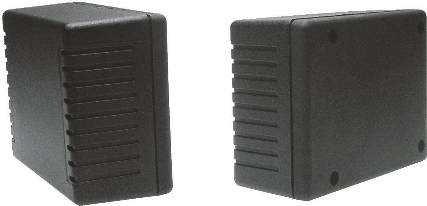 Univerzálne púzdro Strapubox 1014G 1014G, 94 x 71 x 40 , ABS, čierna, 1 ks