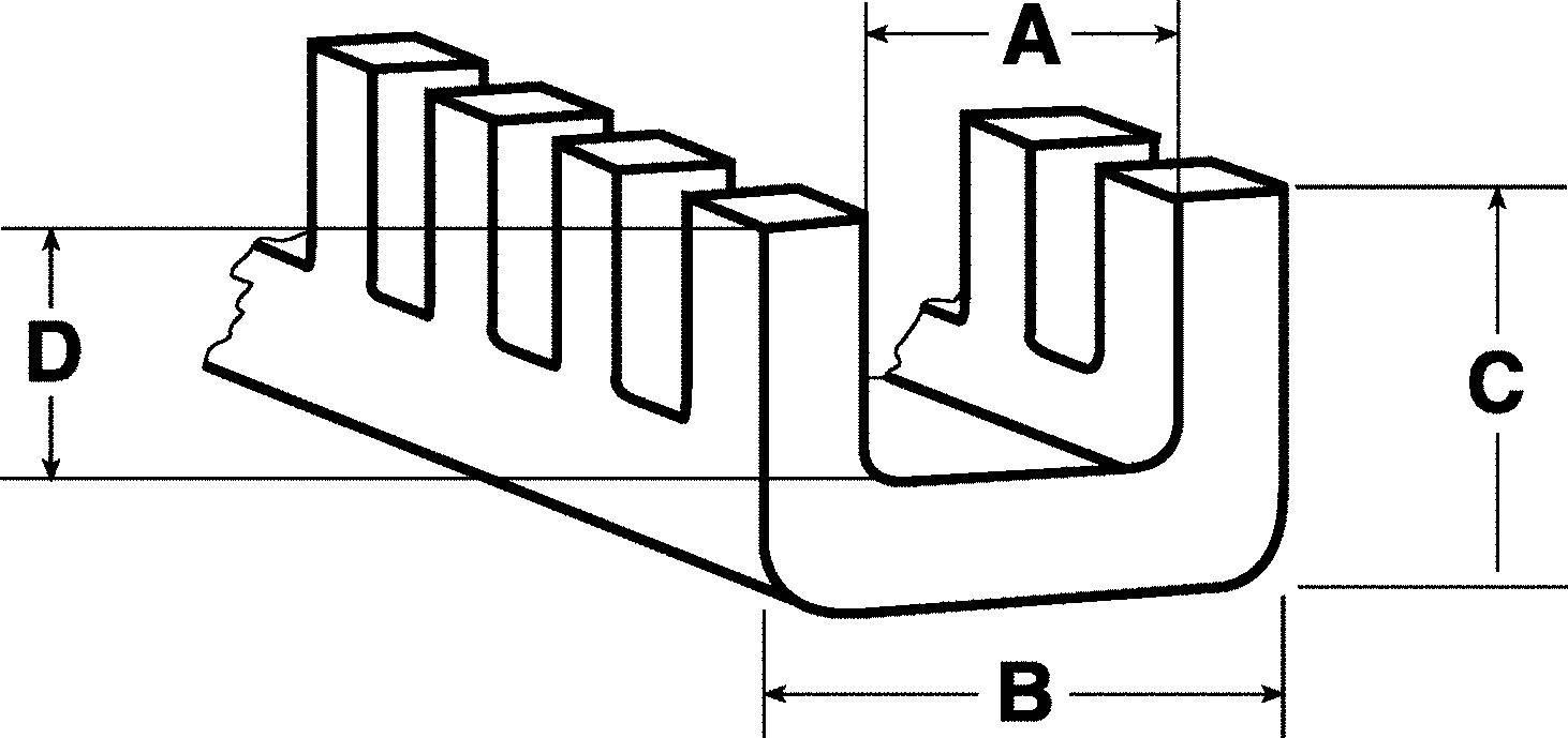 Chránič hrán HellermannTyton G51P-A-PE-NA, hrúbka plechu 0,4 - 1,5 mm