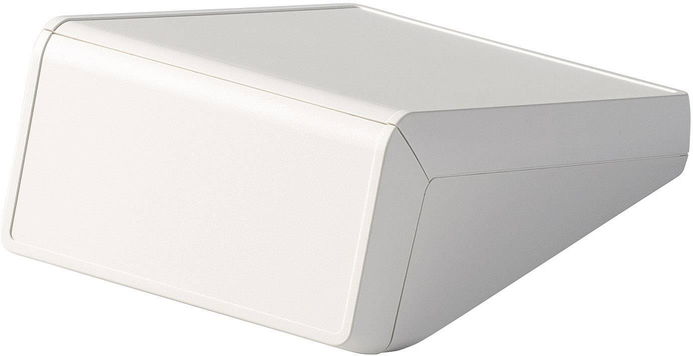 Skrinka na ovládací pult OKW UNITEC D4054107, 125 x 177 x 69 mm, ABS, sivobiela, 1 ks