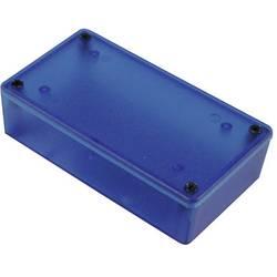 Univerzální pouzdro Hammond Electronics 1591XXSTBU 1591XXSTBU, 110 x 82 x 44 , ABS, modrá (transparentní), 1 ks