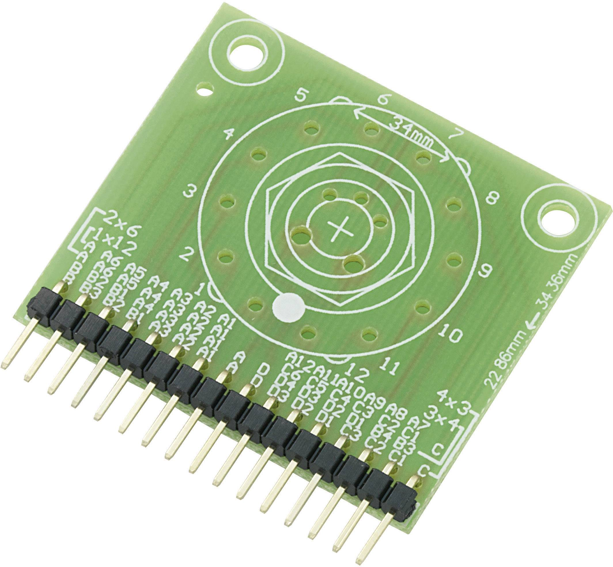 Deska úrovňového přepínače SU709785, 42,7 x 38,3 x 4,6 mm