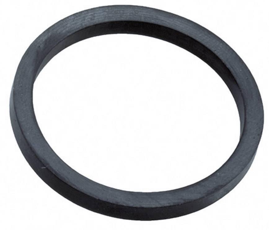 Těsnicí kroužek Wiska ADR 16 (10061423), PG16, EPD kaučuk, černá (RAL 9005)