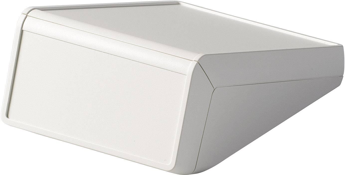 Skrinka na ovládací pult OKW UNITEC D4054317, 125 x 177 x 69 mm, ABS, sivobiela, 1 ks