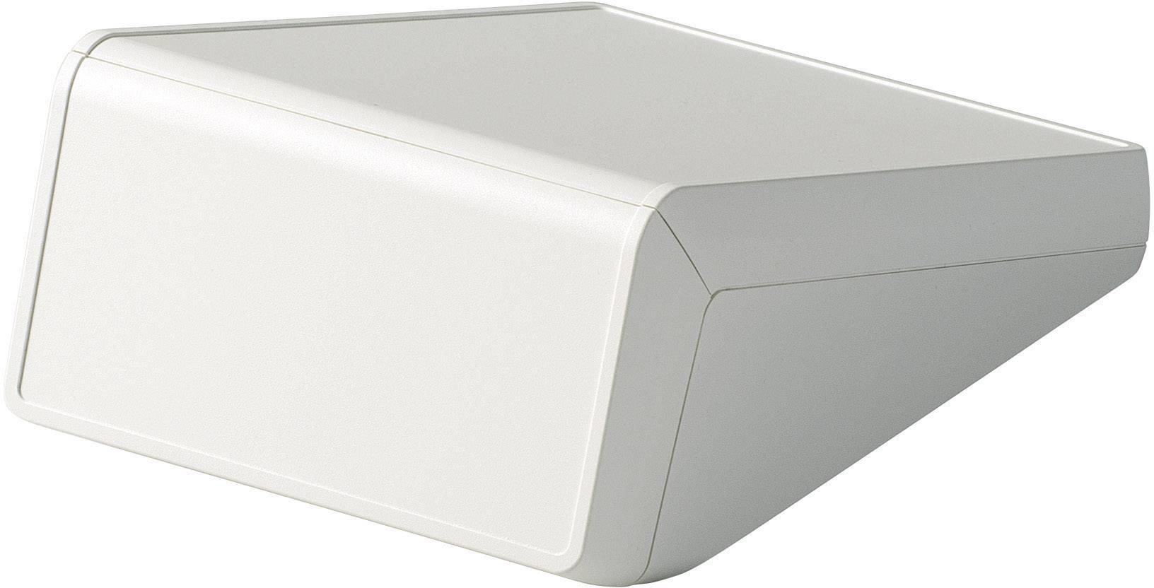 Pultové pouzdro ABS OKW D4056107, (d x š x v) 148 x 210 x 80/25 mm, šedá