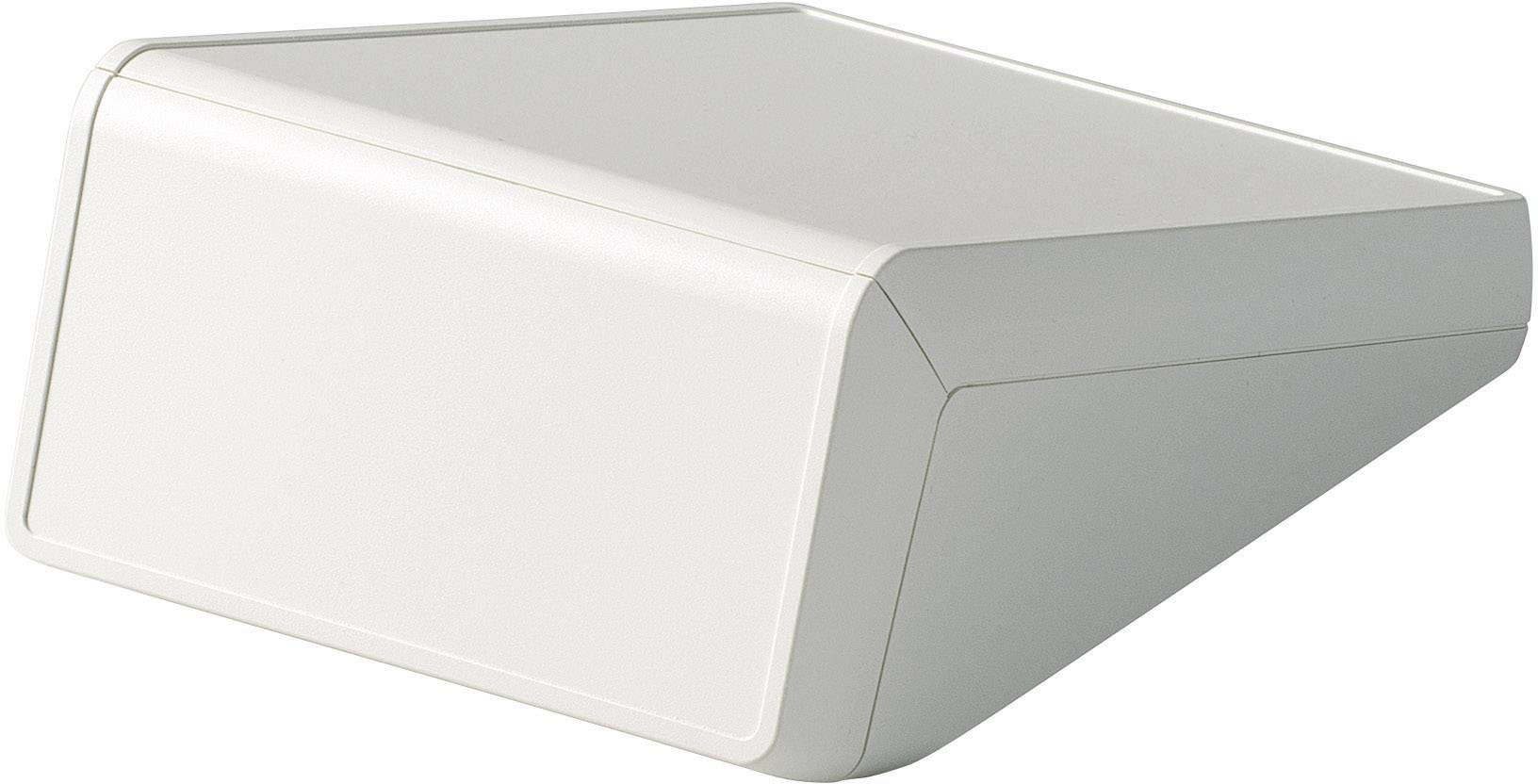 Skrinka na ovládací pult OKW UNITEC D4056107, 148 x 210 x 80 mm, ABS, sivobiela, 1 ks