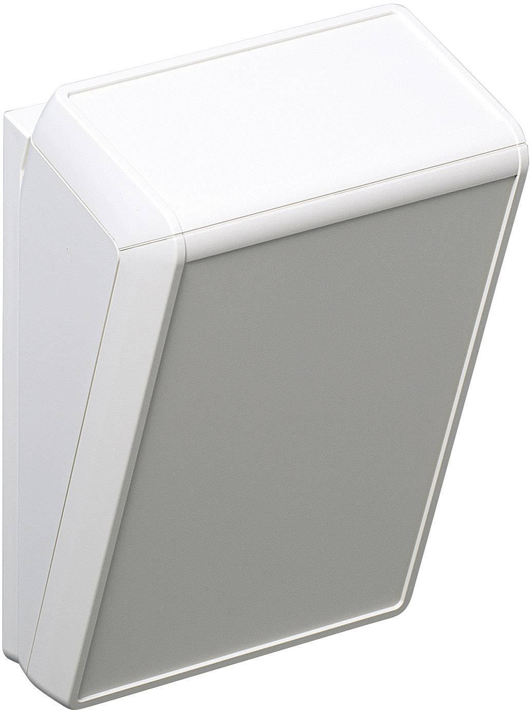 Skrinka na ovládací pult OKW UNITEC D4056117, 148 x 210 x 90 mm, ABS, sivobiela, 1 ks