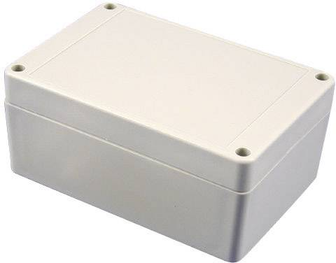 Univerzálne púzdro Hammond Electronics RP1285 RP1285, 186 x 146 x 75 , ABS, svetlo sivá, 1 ks