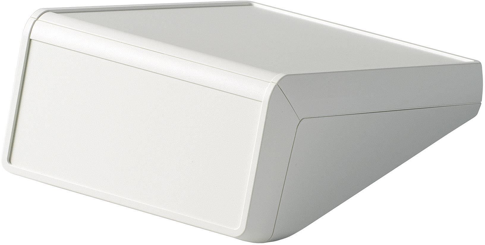 Skrinka na ovládací pult OKW UNITEC D4056317, 148 x 210 x 80 mm, ABS, sivobiela, 1 ks