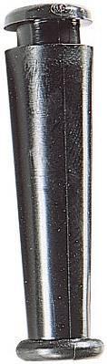 Ochrana proti zlomu HellermannTyton HV2228-PVC-BK-D1 (632-02280), 5,5 mm, černá