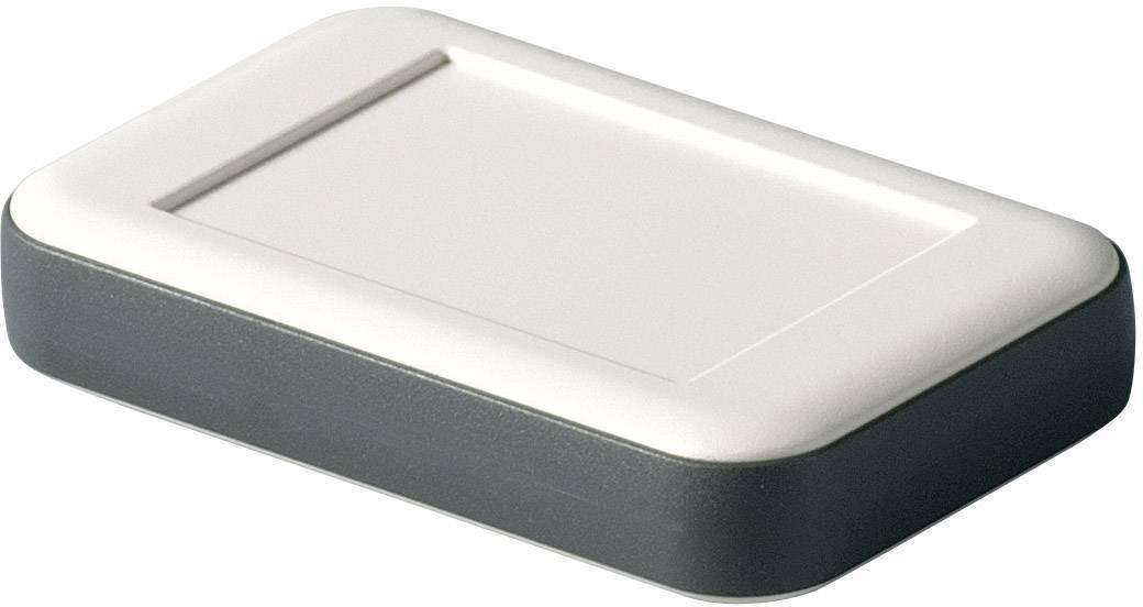 Stolní/nástěnné pouzdro ABS OKW D9050117, (d x š x v) 51 x 82 x 16 mm, šedá