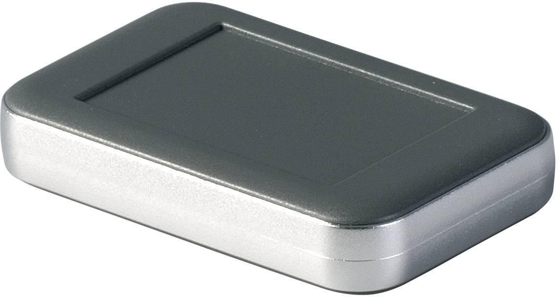 Puzdro na stenu, puzdro na stôl OKW SOFT-CASE D9050148, 51 x 82 x 16 mm, ABS, lávová, matná, chróm, 1 ks