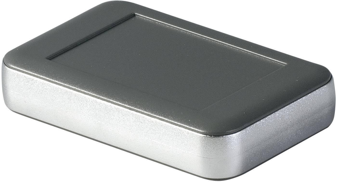 Puzdro na stenu, puzdro na stôl OKW SOFT-CASE D9051248, 65 x 105 x 22 mm, ABS, lávová, matná, chróm, 1 ks