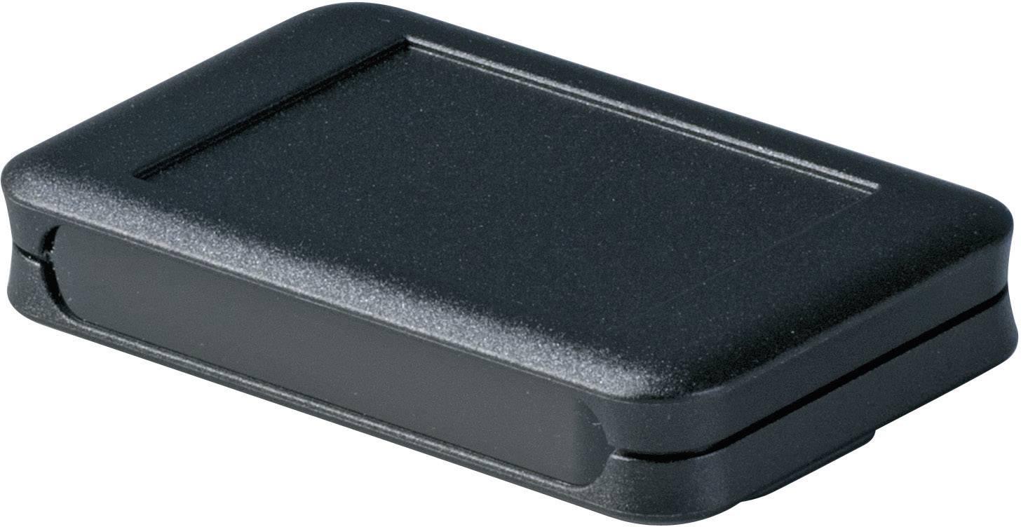 Stolní/nástěnné pouzdro ABS OKW D9051459, (d x š x v) 65 x 105 x 19 mm, černá