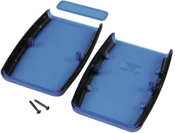 Plastové pouzdro Hammond Soft Side 1553BRDBK, ABS, 117 x 79 x 24 mm, červené