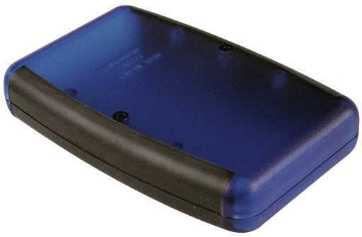 Plastová krabička Hammond Electronics 1553DBKBK, 147 x 89 x 24 mm, ABS, čierna, 1 ks