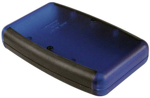 Univerzální pouzdro ABS Hammond Electronics 1553DYLBK, 147 x 89 x 24 mm, žlutá (1553DYLBK)