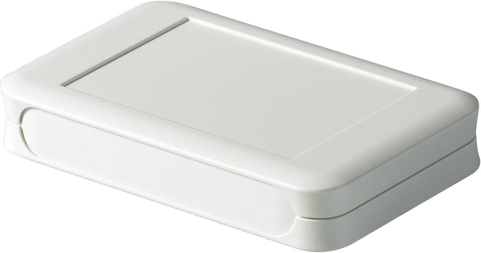 Stolní/nástěnné pouzdro ABS OKW D9053107, (d x š x v) 92 x 150 x 28 mm, šedá