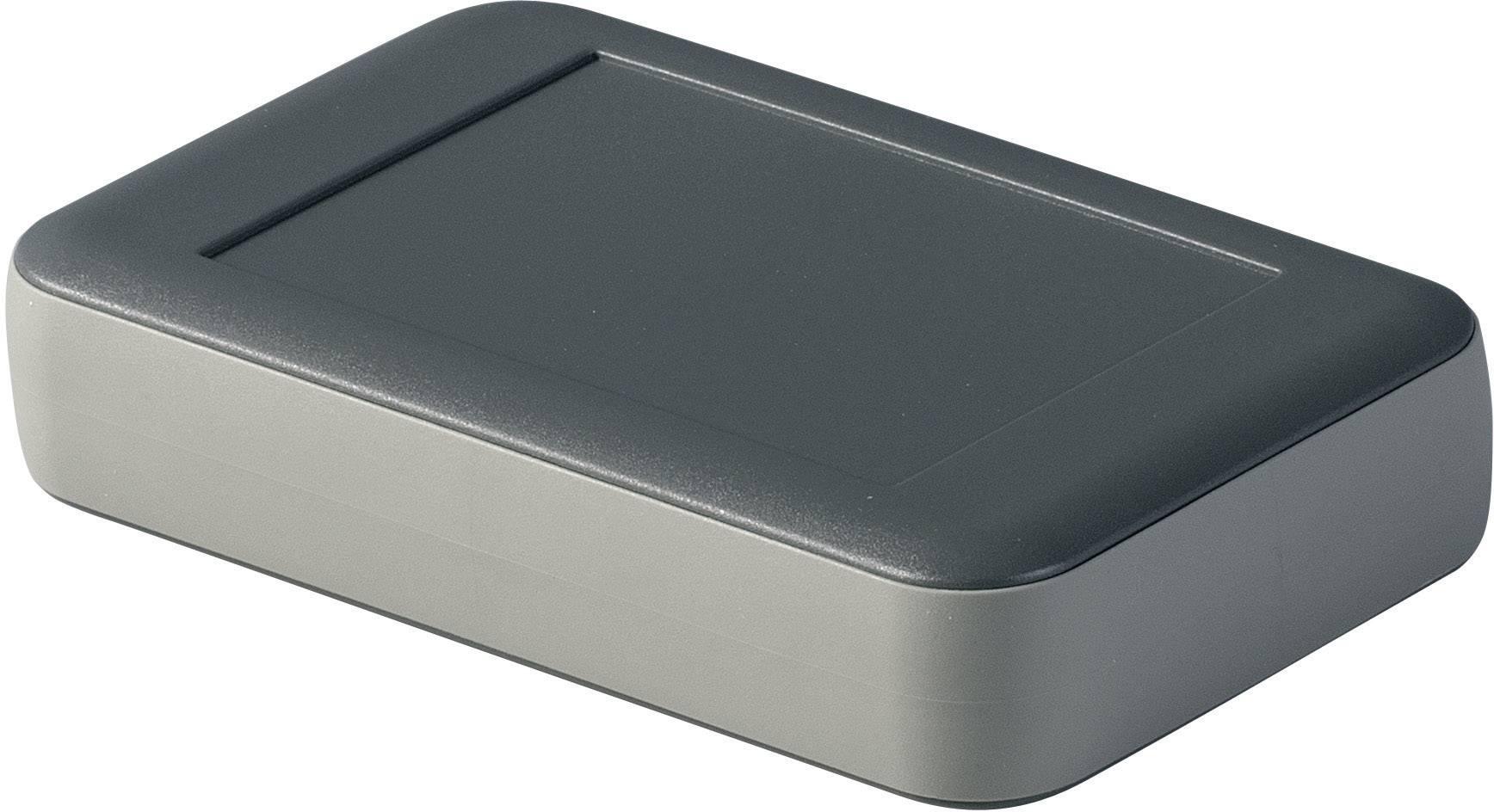 Stolní/nástěnné pouzdro ABS OKW D9053238, (d x š x v) 92 x 150 x 33 mm, antracitová
