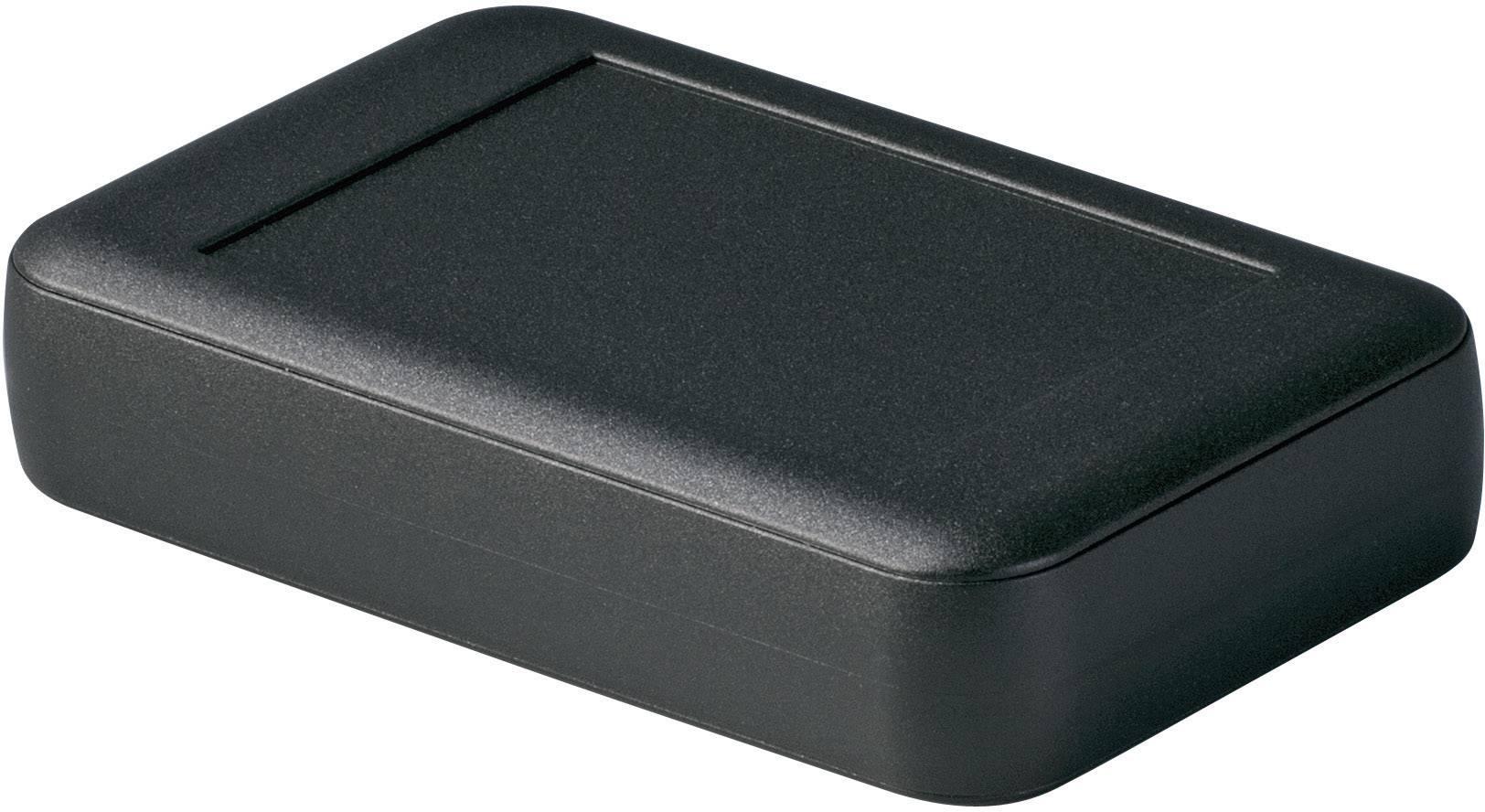 Stolní/nástěnné pouzdro ABS OKW D9053429, (d x š x v) 92 x 150 x 33 mm, černá
