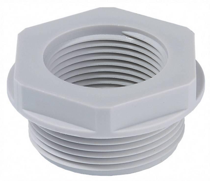 Adaptér šroubové spojky Wiska APM 48/50 (10063676), PG48, světle šedá