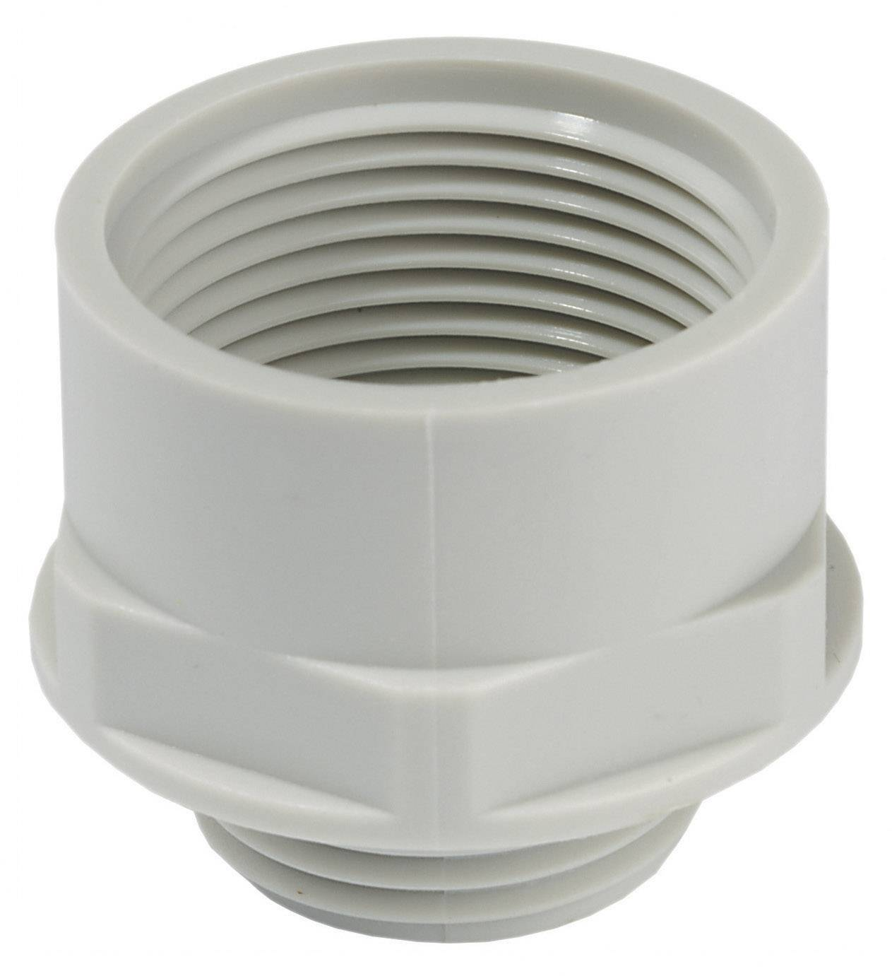 Adaptér kabelový spojky Wiska KEM 12/16 (10063570), M12, světle šedá