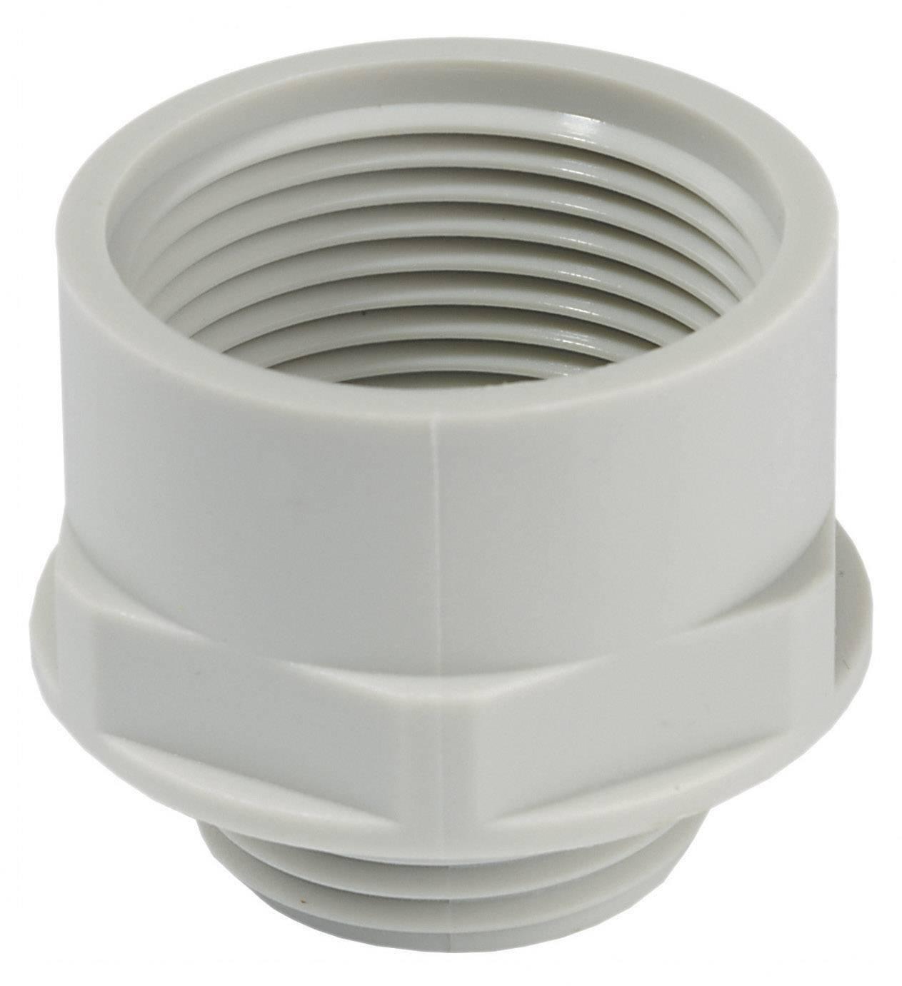 Adaptér kabelový spojky Wiska KEM 16/20 (10063571), M16, světle šedá