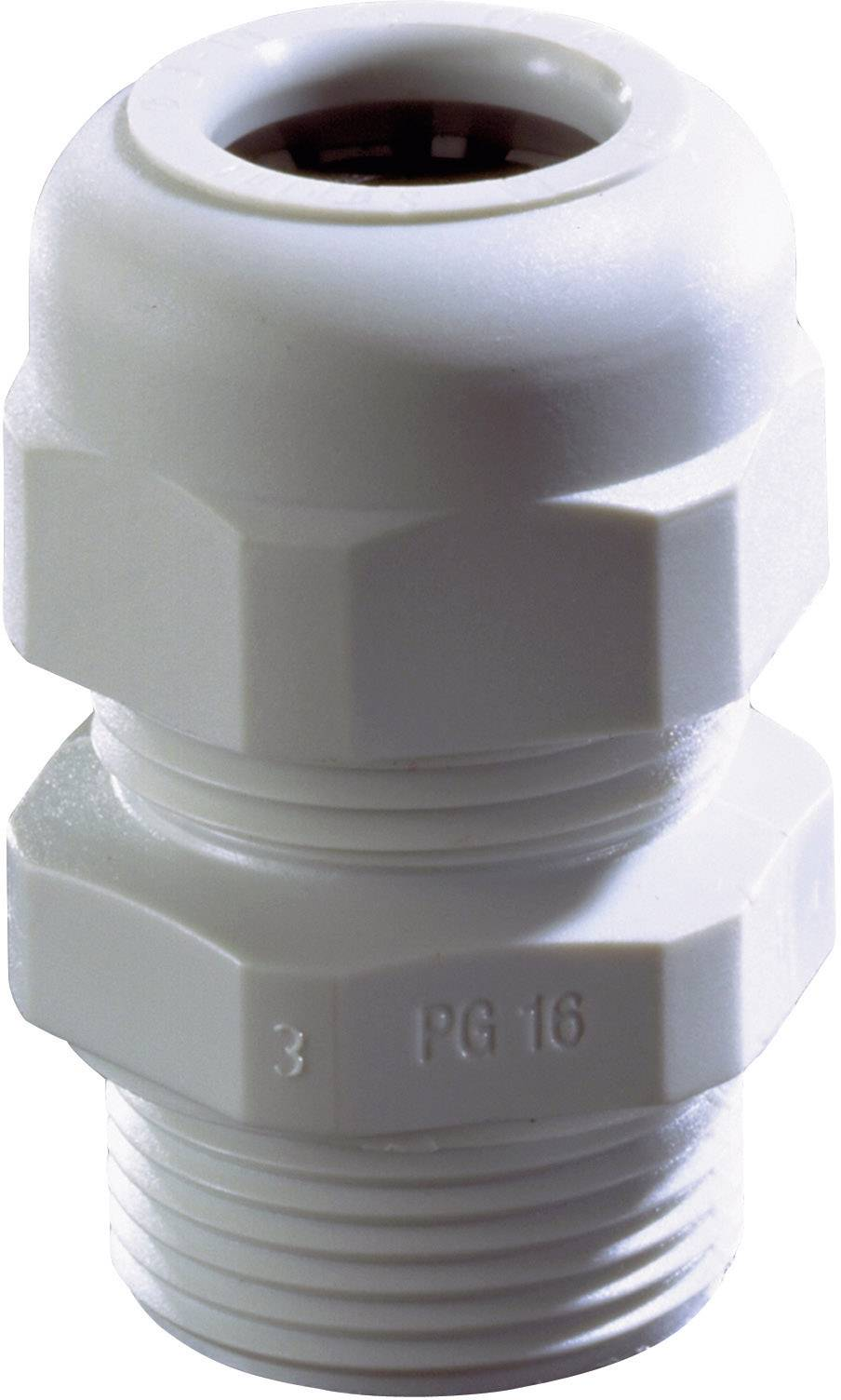 Káblová priechodka Wiska SKV PG 7 RAL 9005, polyamid, čierna, 1 ks