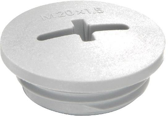 Šroubový uzávěr Wiska EVSG M50 RAL 7035 (10060630), M50, světle šedá
