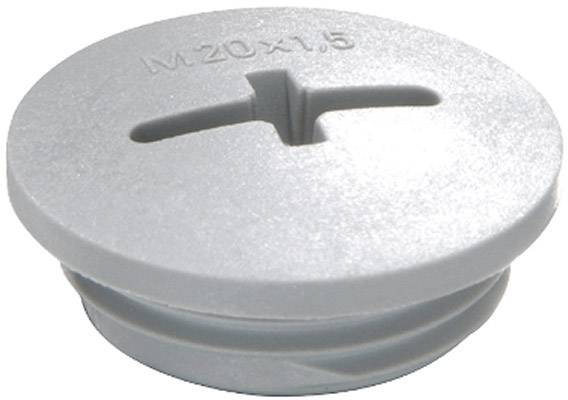Šroubový uzávěr Wiska EVSG M63 RAL 7001 (10062521), M63, stříbrně-šedá