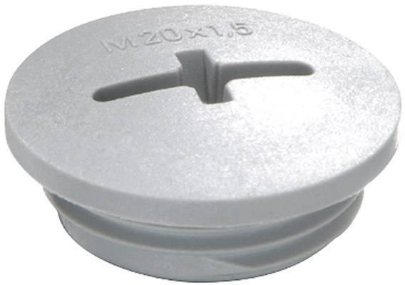 Záslepka Wiska EVSG M25 RAL 7001, polyamid, 1 ks