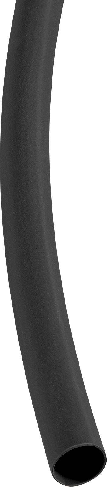 Smršťovací bužírka 9/3 mm, černá