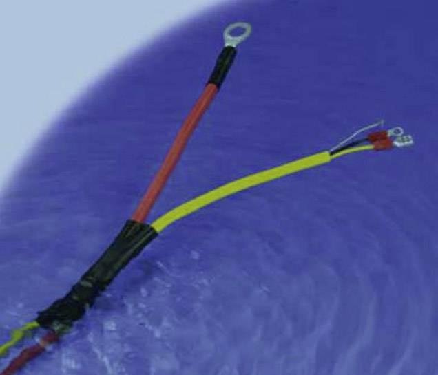 Zmršťovacie bužírky lepiace DSG Canusa 6110030953, 3:1, 3 mm, čierna, metrový tovar