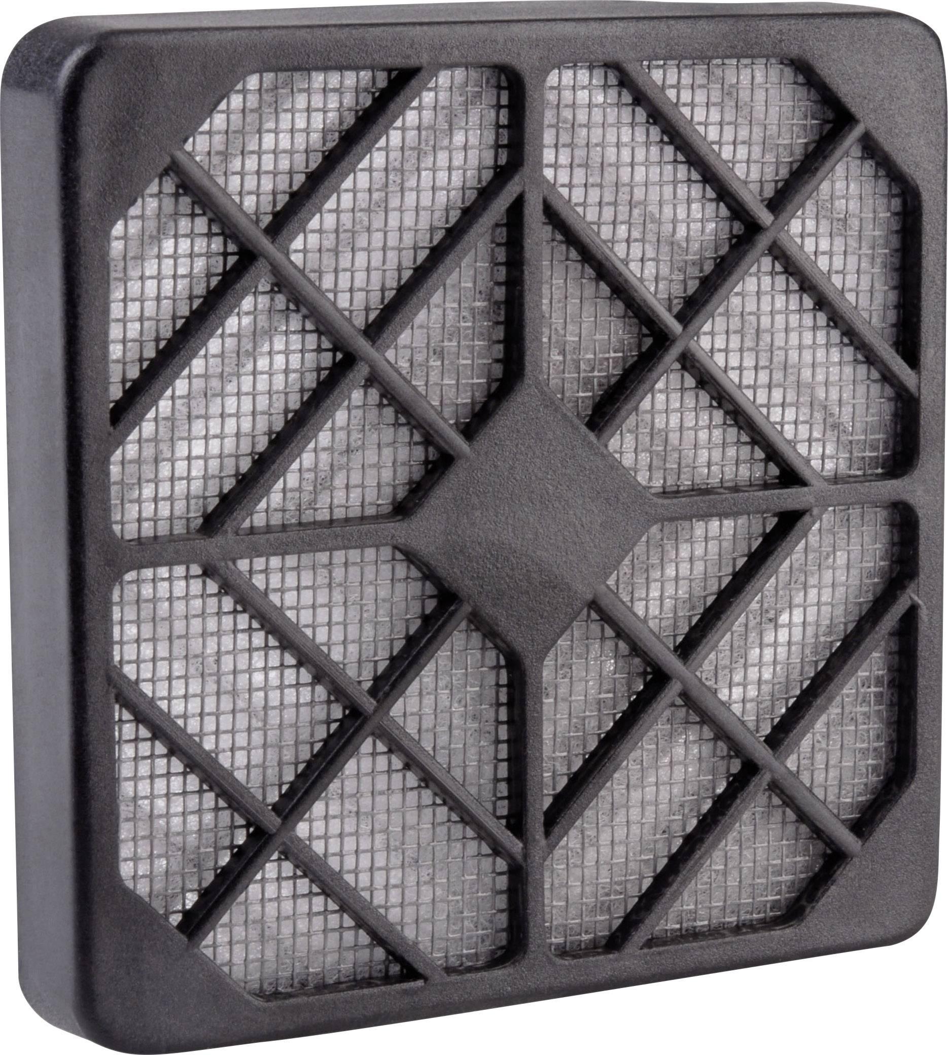 Ochranná plastová mriežka s filtrom Wallair 20100318, čierna
