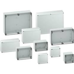 Svorkovnicová skříň polykarbonátová Spelsberg TG PC 1212-6-to, (d x š x v) 124 x 122 x 55 mm, šedá