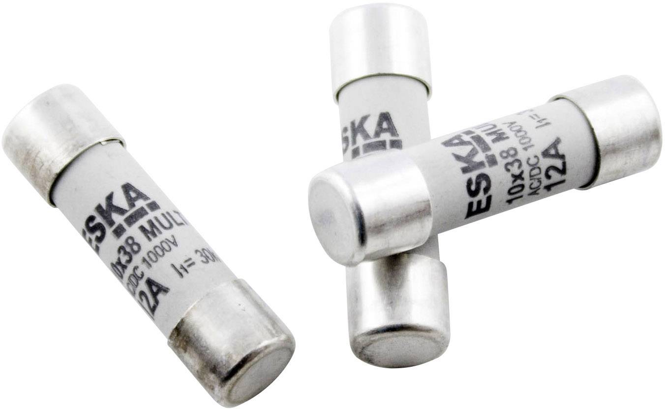 Pojsitka multimetra ESKA 1038.827, 10 A, 1000 V, (Ø x d) 10.3 mm x 38 mm, rýchly -F-, 1 ks