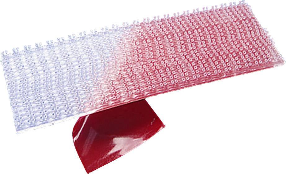 Lepiaci pásik so suchým zipsom 3M SJ 3560, (d x š) 1000 mm x 25 mm, priesvitná, metrový tovar