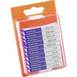 Sada trubičkových poistiek ESKA 12108, (Ø x d) 5 mm x 20 mm, stredne pomalý -mT-, 100 ks