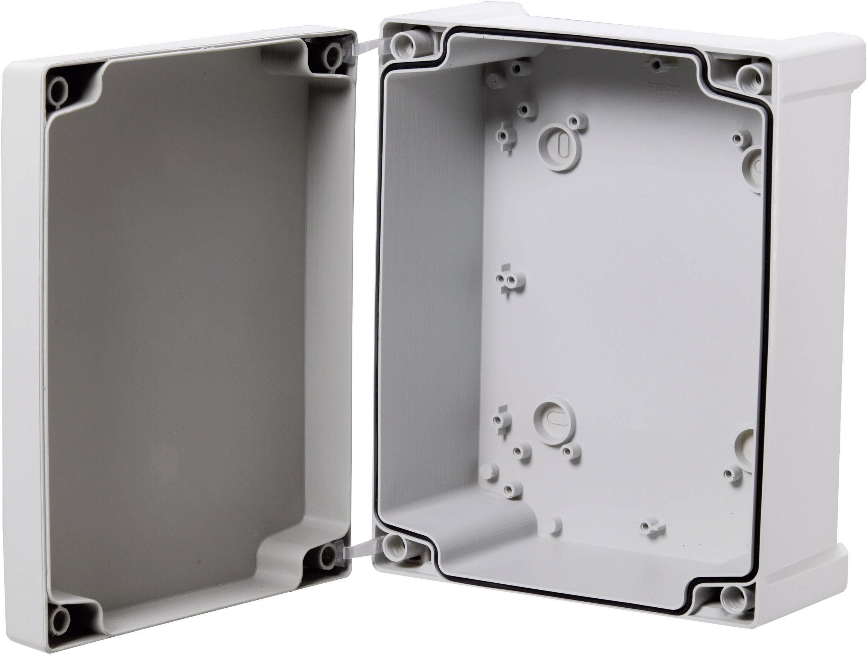Nástěnné pouzdro ABS Fibox TAM111107, (d x š x v) 110 x 110 x 65 mm, šedá (TAM111107)