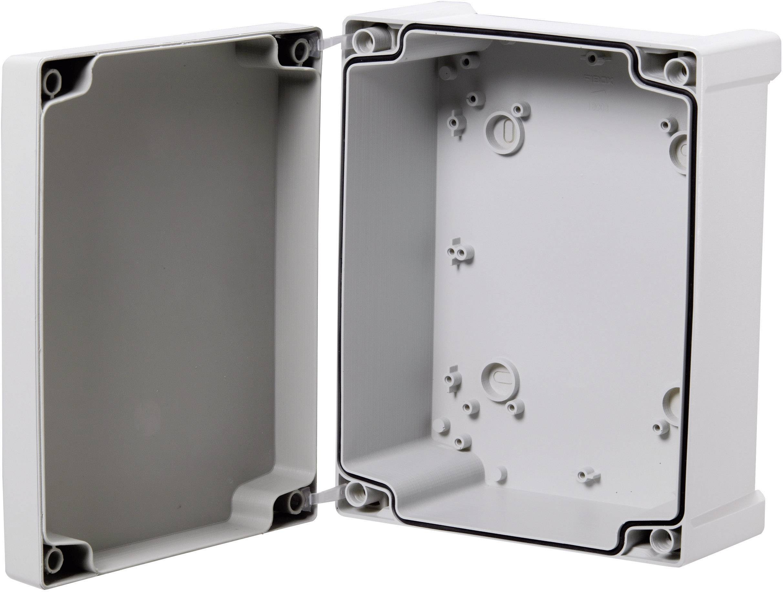 Puzdro na stenu Fibox TEMPO TA090706, (d x š x v) 95 x 65 x 60 mm, ABS, šedá, 1 ks