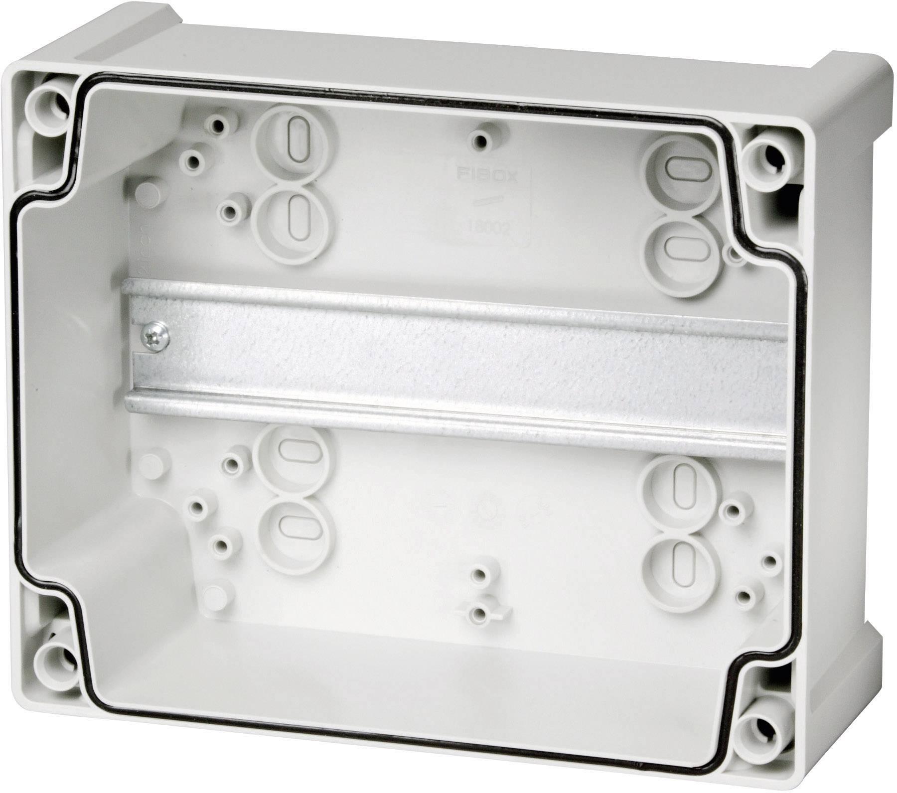 Fibox TEMPO TA131308, (d x š x v) 130 x 130 x 75 mm, ABS, šedá, 1 ks