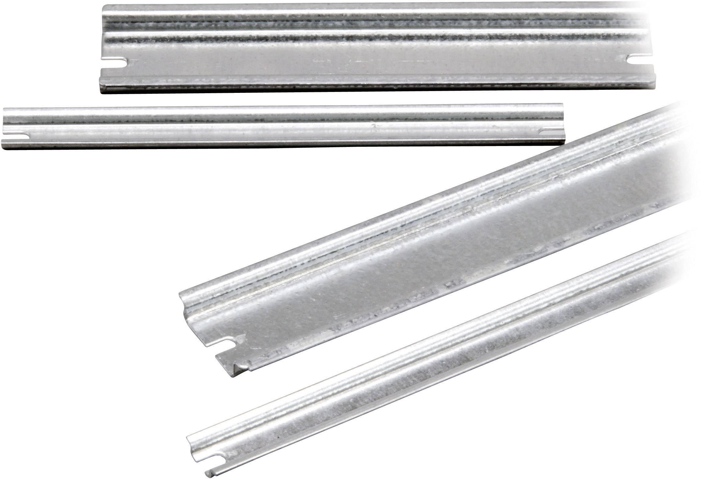 Montážní lišta Fibox EKV 12, (d x š x v) 160 x 35 x 7,5 mm (EKV 12)
