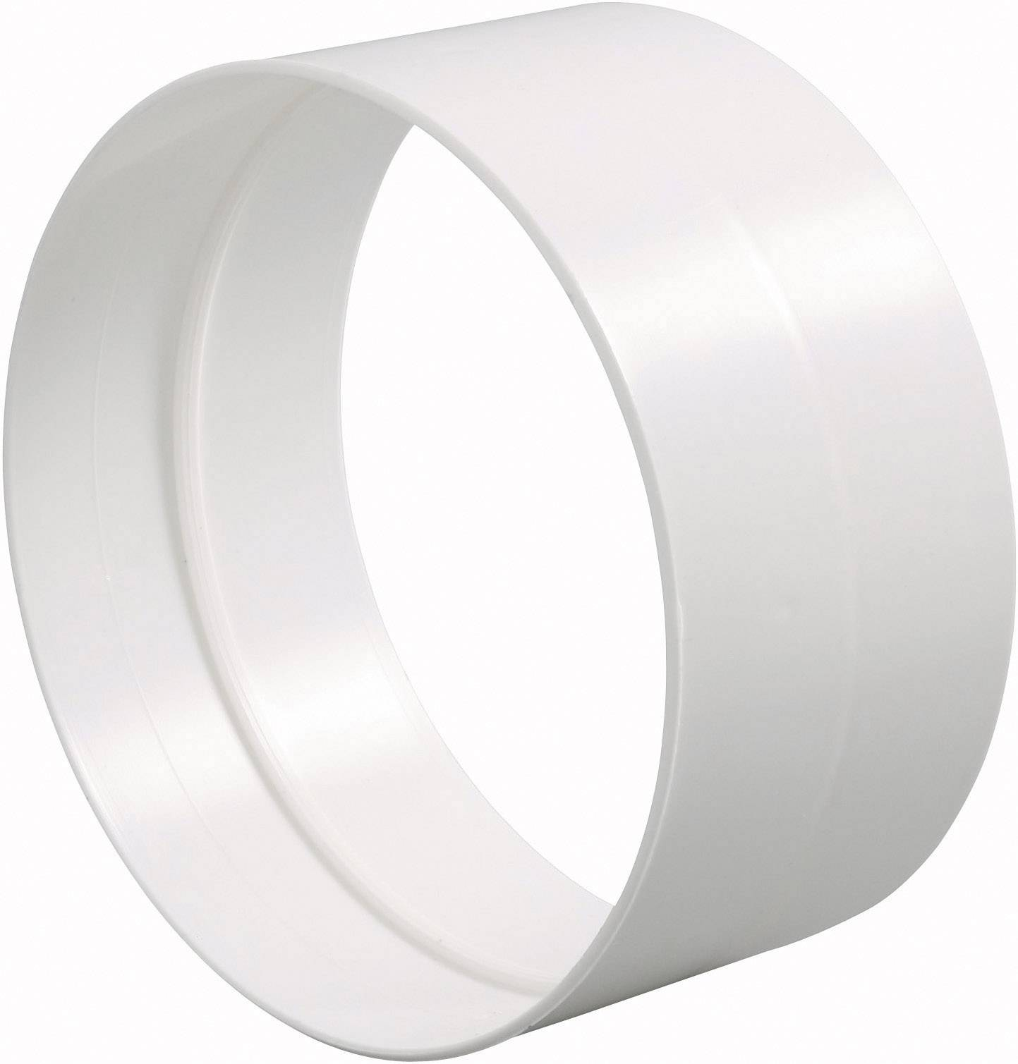 Vnější spojka trubek DN 100, bílá