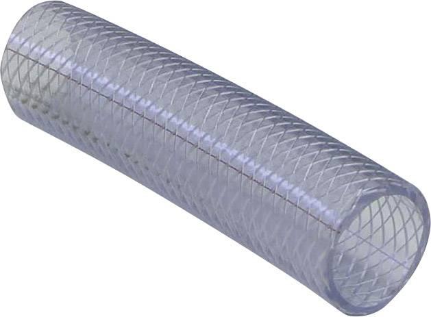 Hadice z PVC vyztužená tkaninou, Ø 38,2 mm, transparentní