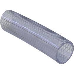 Hadice z PVC vyztužená tkaninou, Ø 9,7 mm, transparentní