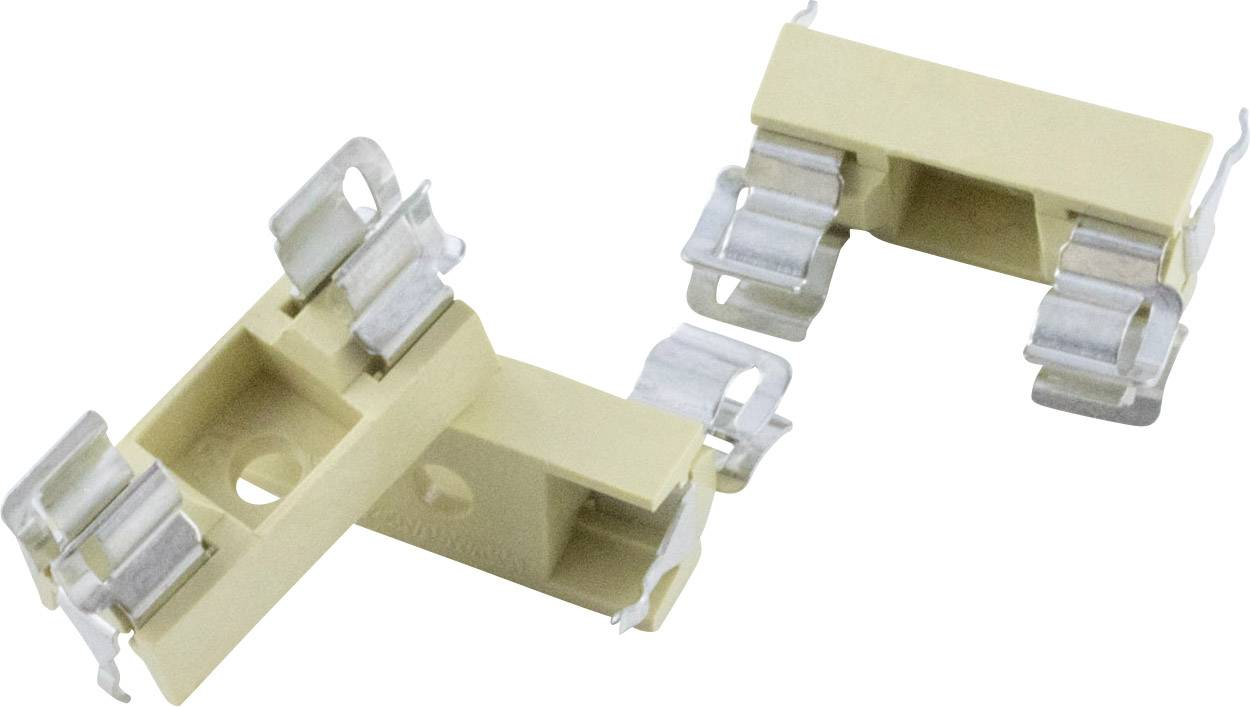 Držák pojistky rozměru 5 x 20 mm, 250 V/AC, 6,3 A