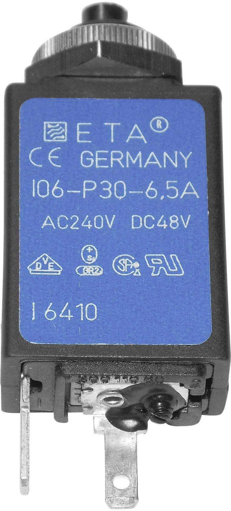 Istič termické ETA CE106P30-40-6,5 CE106P30-40-6,5, 240 V/AC, 6.5 A, 1 ks