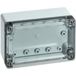 Svorkovnicová skříň polykarbonátová Spelsberg TG PC 1208-6-to, (d x š x v) 122 x 82 x 55 mm, šedá