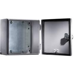 Svorkovnicová skříň, ocelový plech, Rittal 1549500, (š x v x h) 200 x 200 x 120 mm, šedá