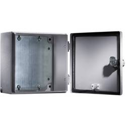 Svorkovnicová skříň, ocelový plech, Rittal 1555500, (š x v x h) 300 x 300 x 120 mm, šedá