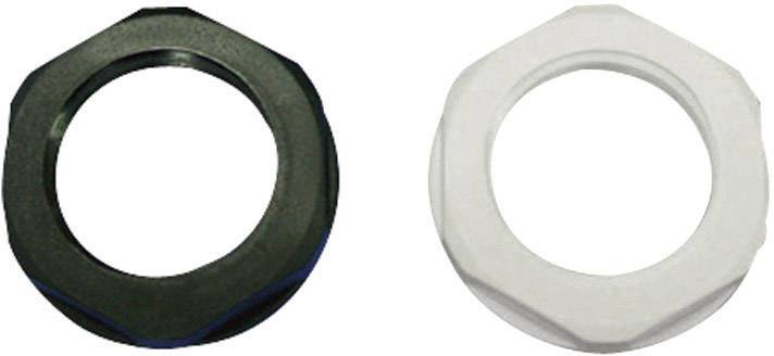 Pojistná matice KSS AGRL12LGY4, polyamid, světle šedá (RAL 7035)